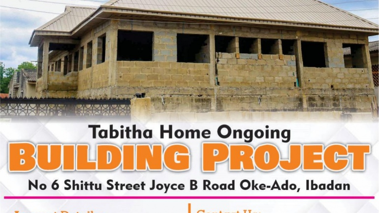 Support Tabitha Home Ongoing Building Project